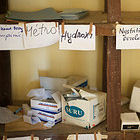 Pharmacy shelf, Guinea